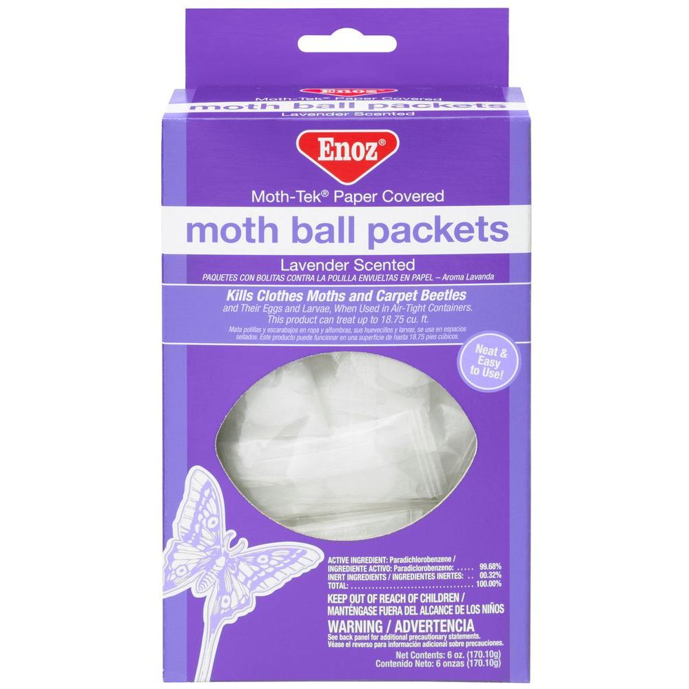Willert Home Products 6 oz. Moth Ball Packets in Lavender...