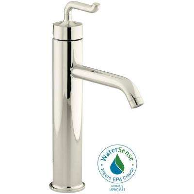 Purist Single-Handle Kitchen Vessel Sink Faucet in Vibrant Polished Nickel