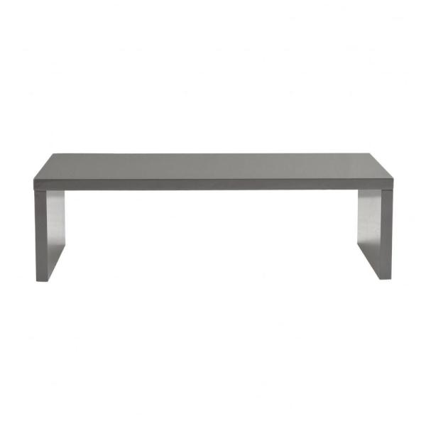 Amelia 13.98 in. Gray Coffee Table