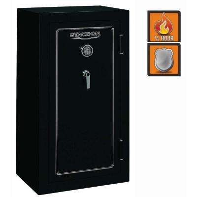 24-Gun Safe Electronic Lock in Matte Black