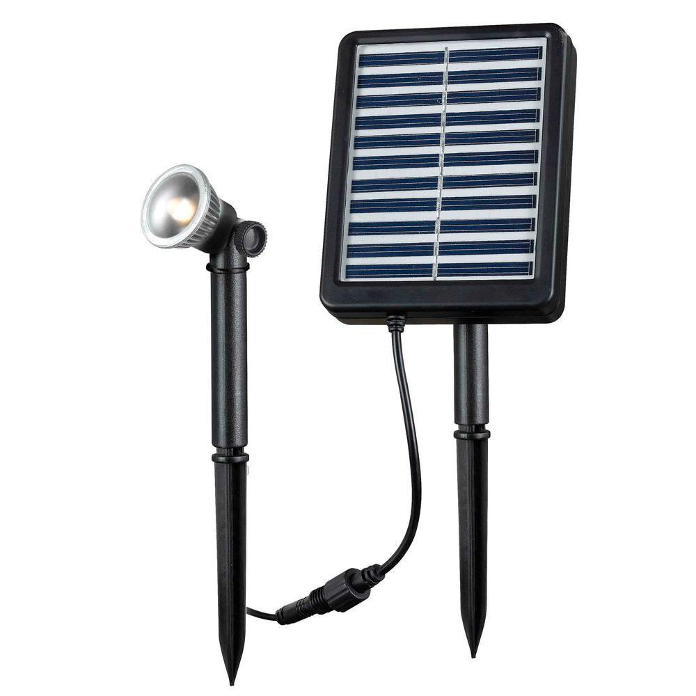 Kenroy Home 1-Watt Solar LED Seriously Spotlight