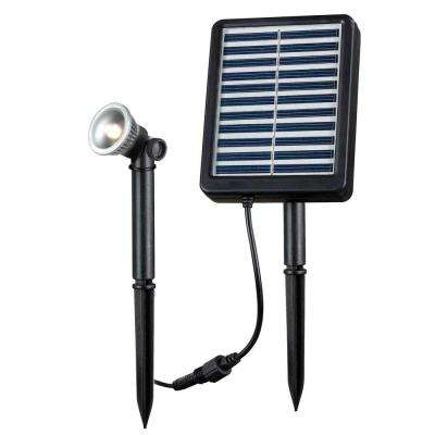 1-Watt Solar LED Seriously Spotlight