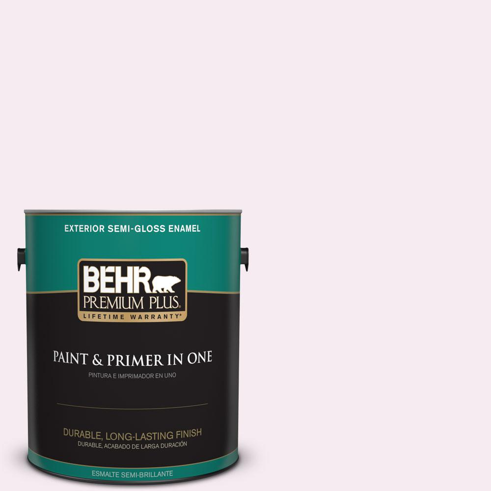 1-gal. #690C-1 Sweet Illusion Semi-Gloss Enamel Exterior Paint