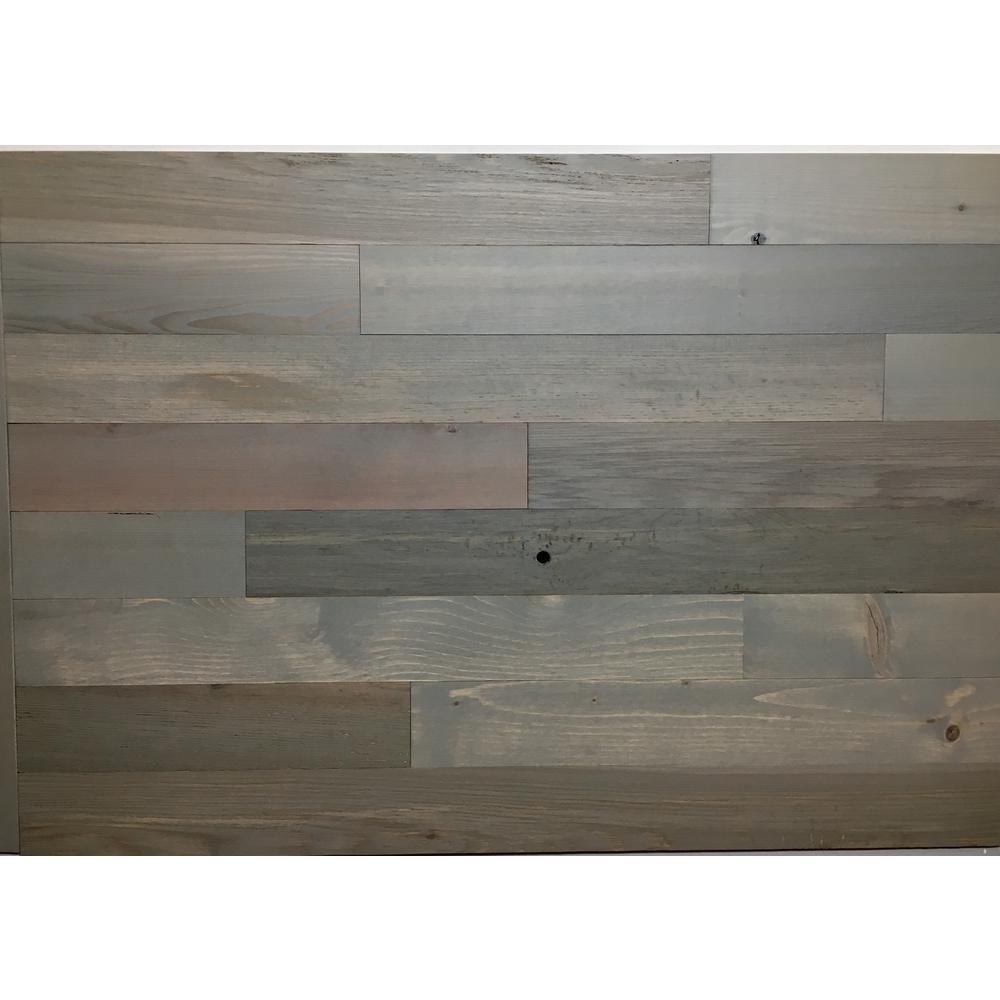 Driftwood 3 in. Peel and Stick Wall Applique Panels (20 sq.