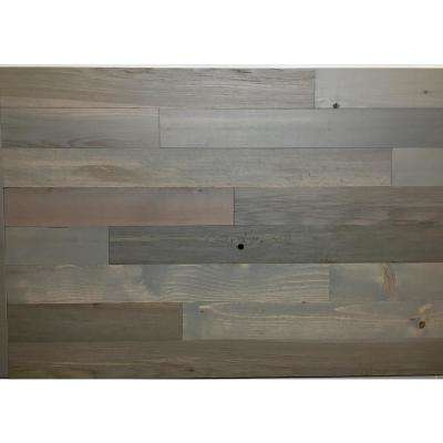 Driftwood 3 in. Peel and Stick Wall Applique Panels (20 sq. ft./Box)
