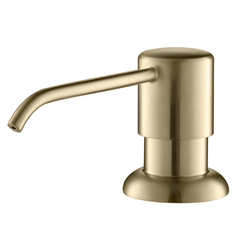 Boden Kitchen Soap Dispenser in Brushed Gold