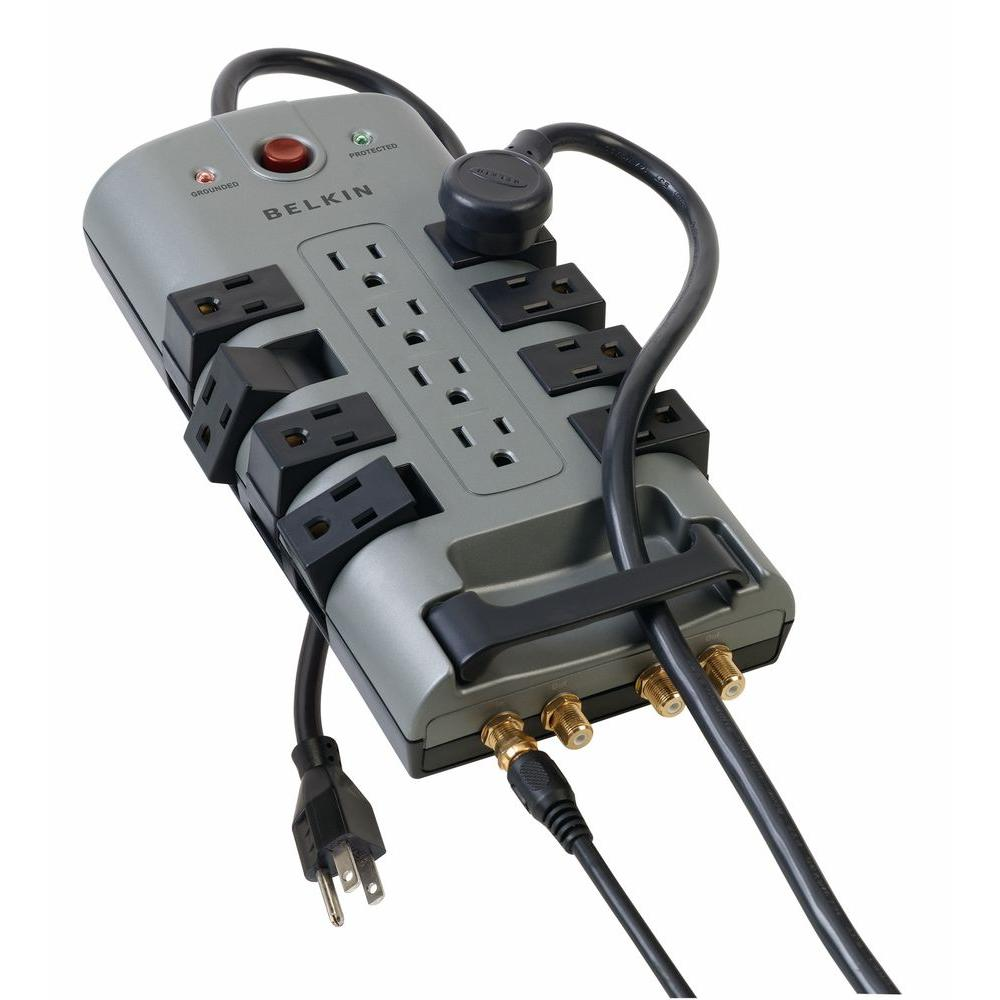 Belkin 12-Outlet Home Theater Surge Protector-DISCONTINUED