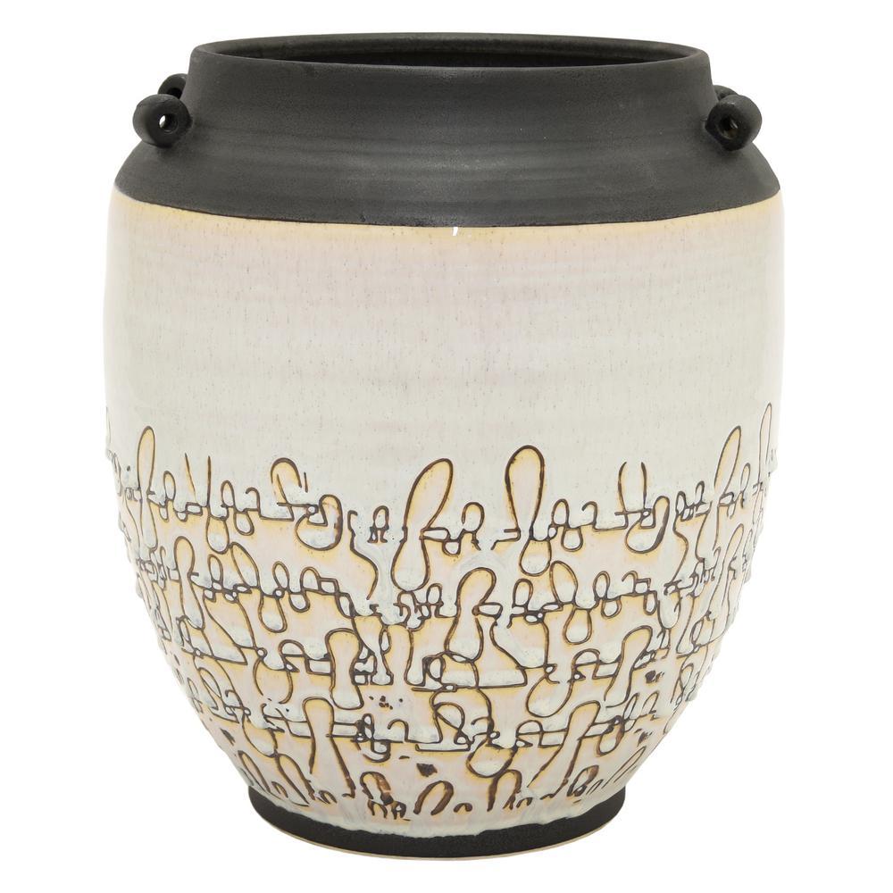 13 in. Ceramic Planter
