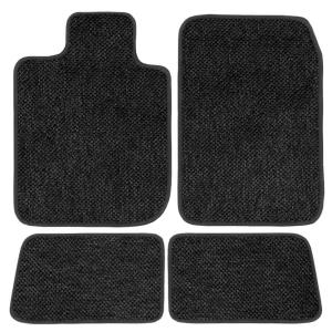 GGBAILEY D3681A-LSB-BLK/_BR Custom Fit Car Mats for 2004 2006 2008 2nd /& 3rd Row 5 Piece Floor 2009 Cadillac SRX Black with Red Edging Driver 2007 Passenger 2005