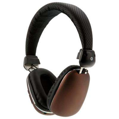 Platinum Bluetooth Wireless Headphone with In-Line Audio, Bronze