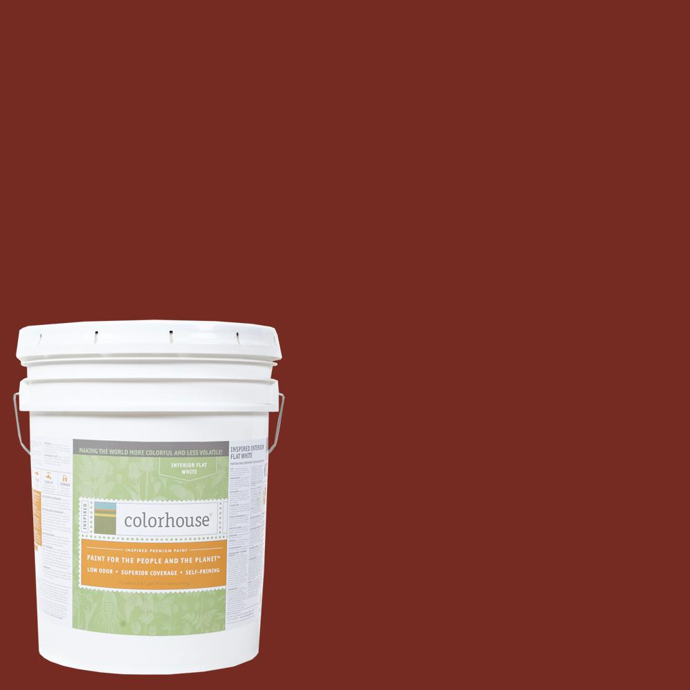 5 gal. Clay .05 Flat Interior Paint