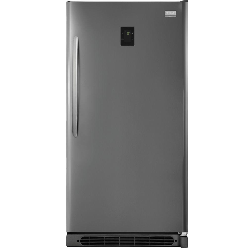 Frigidaire Gallery 17.0 cu. ft. Frost Free Upright Freezer Convertible to Refrigerator in Classic Slate, ENERGY STAR