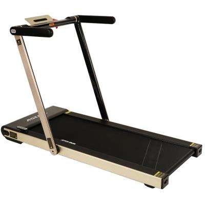 ASUNA Space Saving Treadmill, Motorized with Speakers for AUX Audio Connection