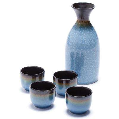 Ceramic Osaka Sake Set