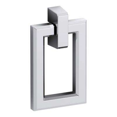 Poplin 1.5 in. W Rectangular Pull in Chrome