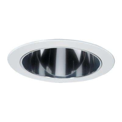 Deep Cone Multiplier 6 in. White Recessed Trim