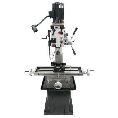 JMD-40GHPF Geared Head Mill/Drill Press with Power Downfeed and Newall DP500 2-Axis Dro