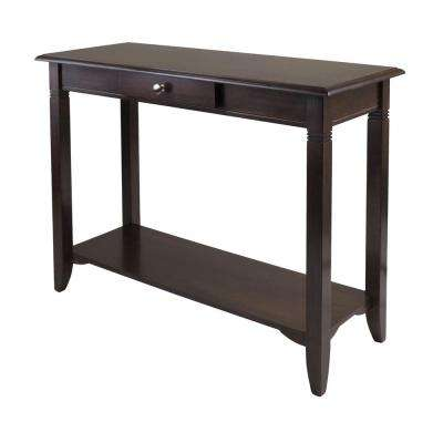 Nolan Cappuccino Console Table
