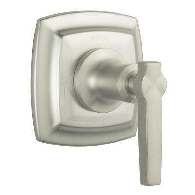 Margaux 1-Handle Volume Control Valve Trim Kit in Vibrant Brushed Nickel (Valve Not Included)
