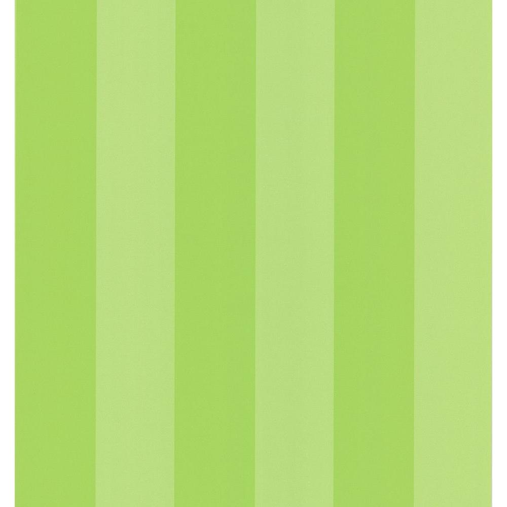 National Geographic Lime Green Broad Stripe Wallpaper