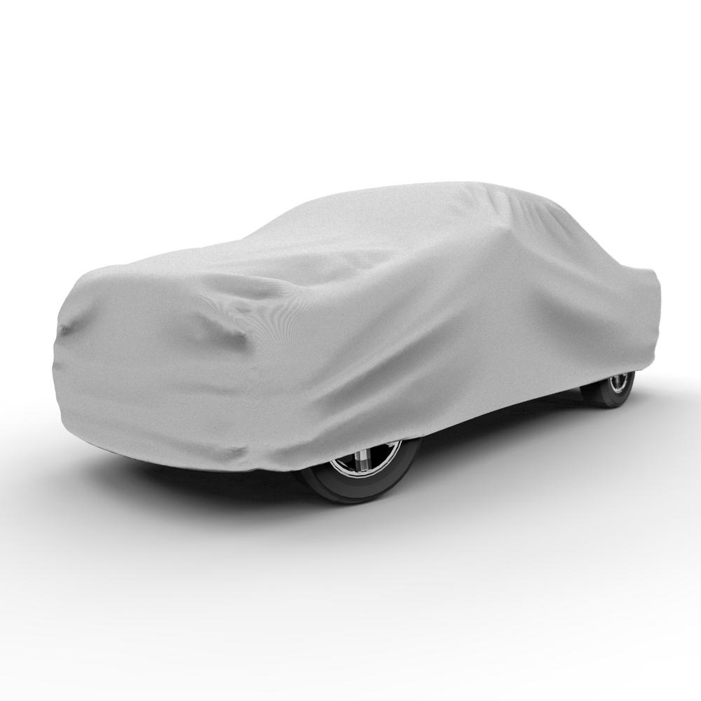 1 Layer Car Cover Breathable Waterproof Layers Outdoor Indoor Fleece Lining Fim