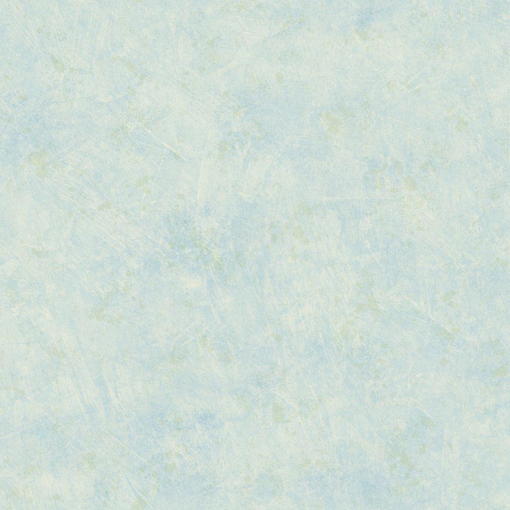 Chesapeake Tahlia Aqua Stucco Texture Wallpaper HAS01336
