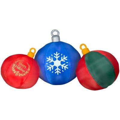 50 in. - Christmas Inflatables - Outdoor Christmas Decorations - The Home Depot