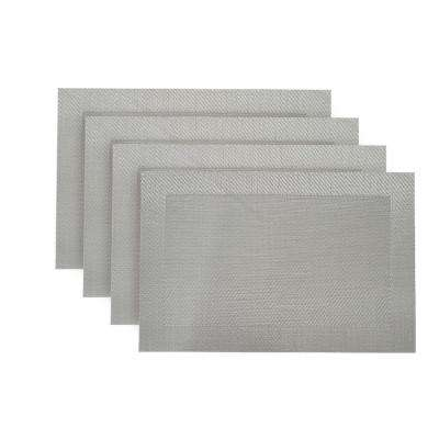 Napa Silver Textilene Placemat (Set of 4)
