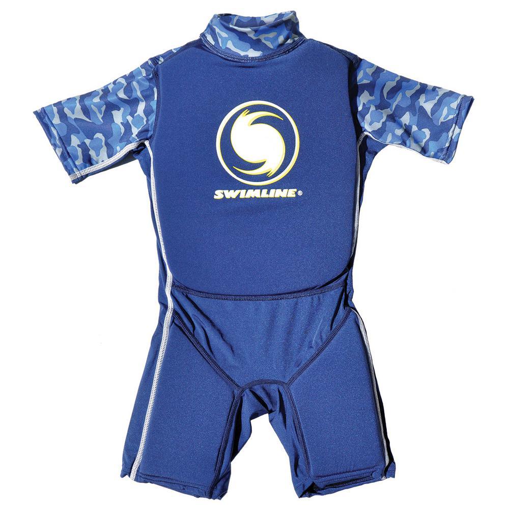 Small Blue Lycra Floating Swim Trainer