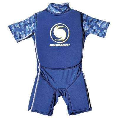 Medium Blue Lycra Floating Swim Trainer