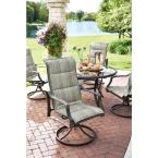 77818b7fac8 Store SKU  1001518096. Hampton Bay Statesville 5-Piece Padded Sling Patio  Dining Set with 53 in. Glass. +8
