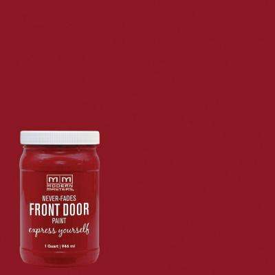 Express Yourself 1 qt. Satin Sophisticated Front Door Paint