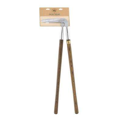 35 in. Wooden Handled Edging Shear