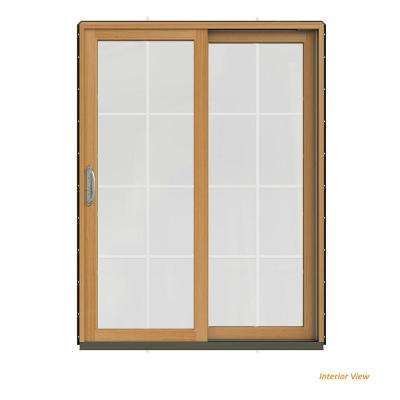 60 In X 80 W 2500 Contemporary Bronze Clad Wood Right
