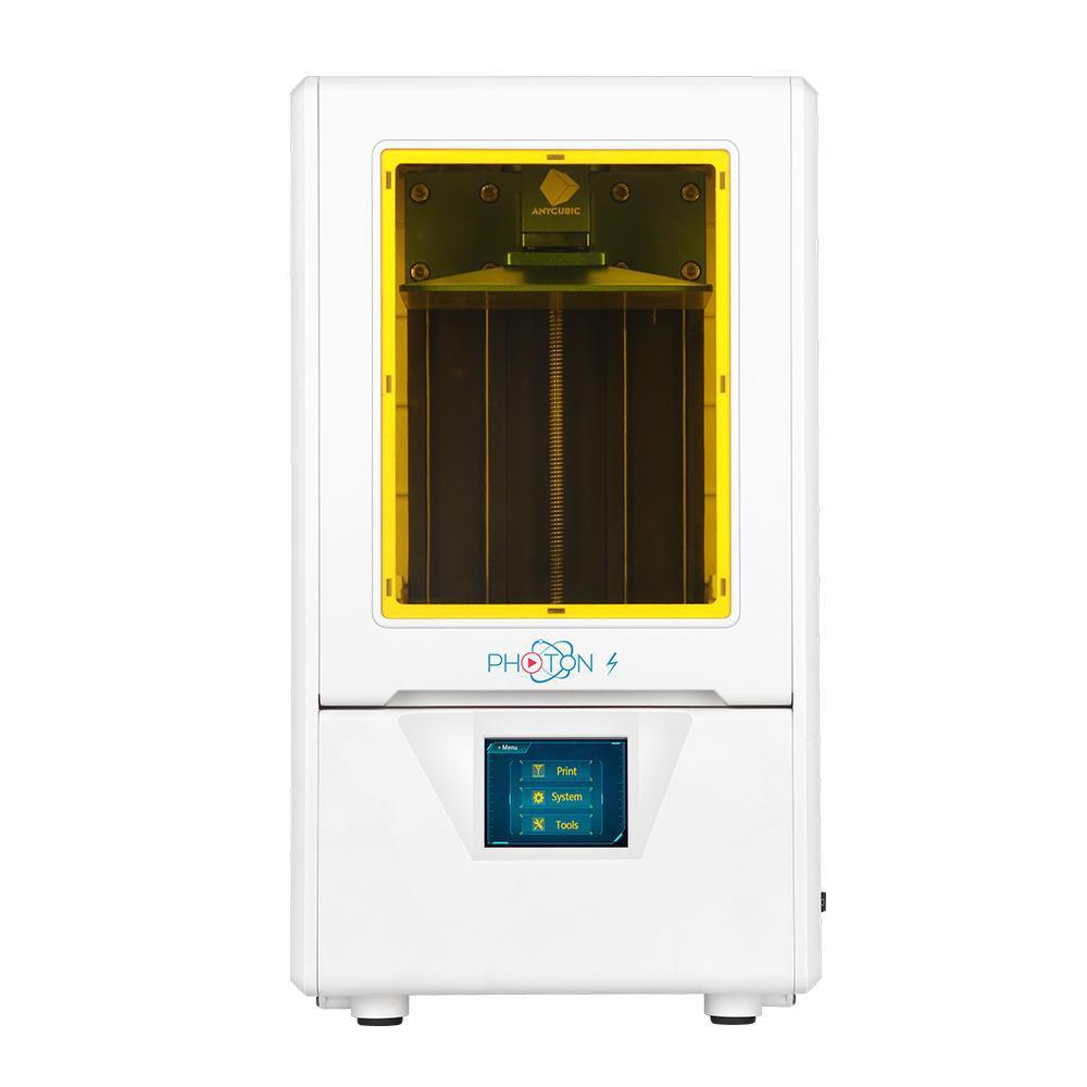 Photon S, SLA 3D Resin Printer in White