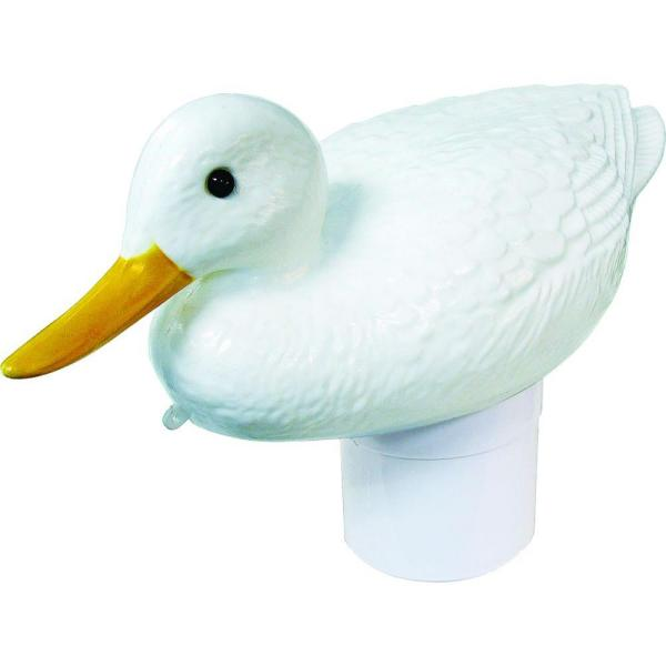 Clori-Duck White Duck Swimming Pool and Spa Chlorine Dispenser