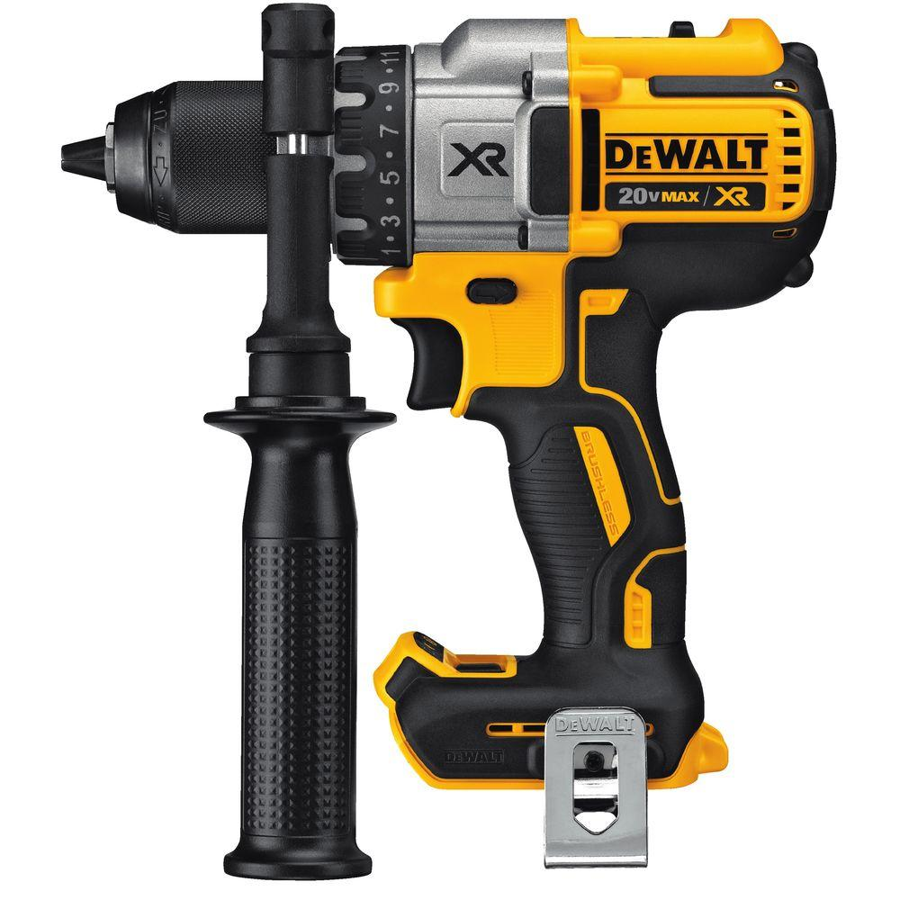 20-Volt MAX XR Lithium-Ion Cordless 1/2 in. Premium Brushless Drill Driver