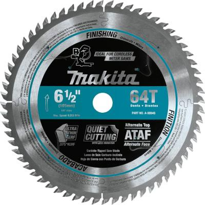 6-1/2 in. 64T Carbide-Tipped Ultra-Thin Kerf Saw Blade