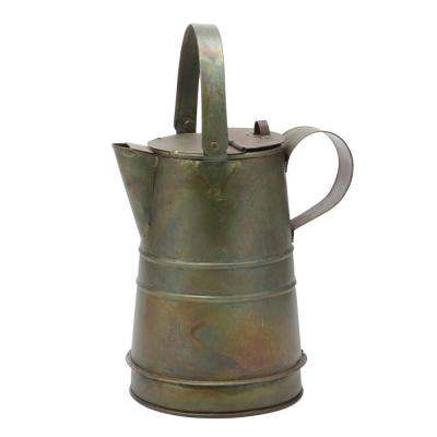 6 in. x 7 in. Weathered Metal Pitcher