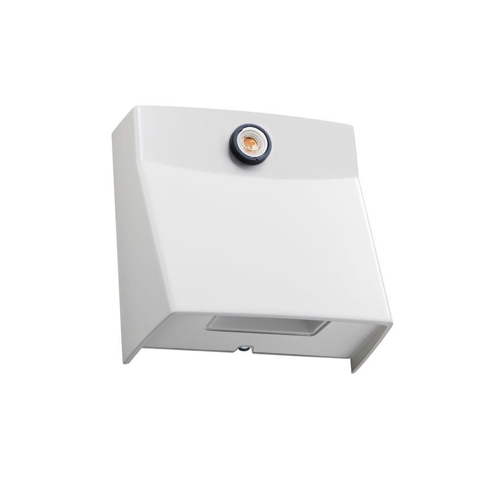 Juno MSL Series High Output Outdoor White LED Mini Security Light with Daylight Sensor
