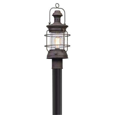 Atkins Outdoor Centennial Rust Post Light