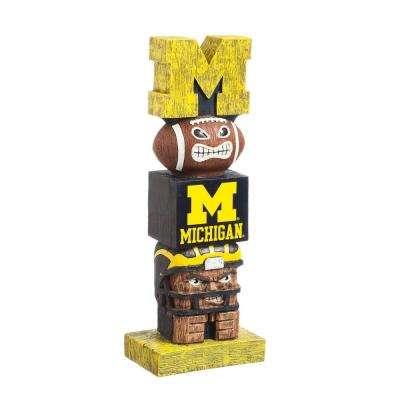 University Of Michigan Tiki Totem Garden Statue