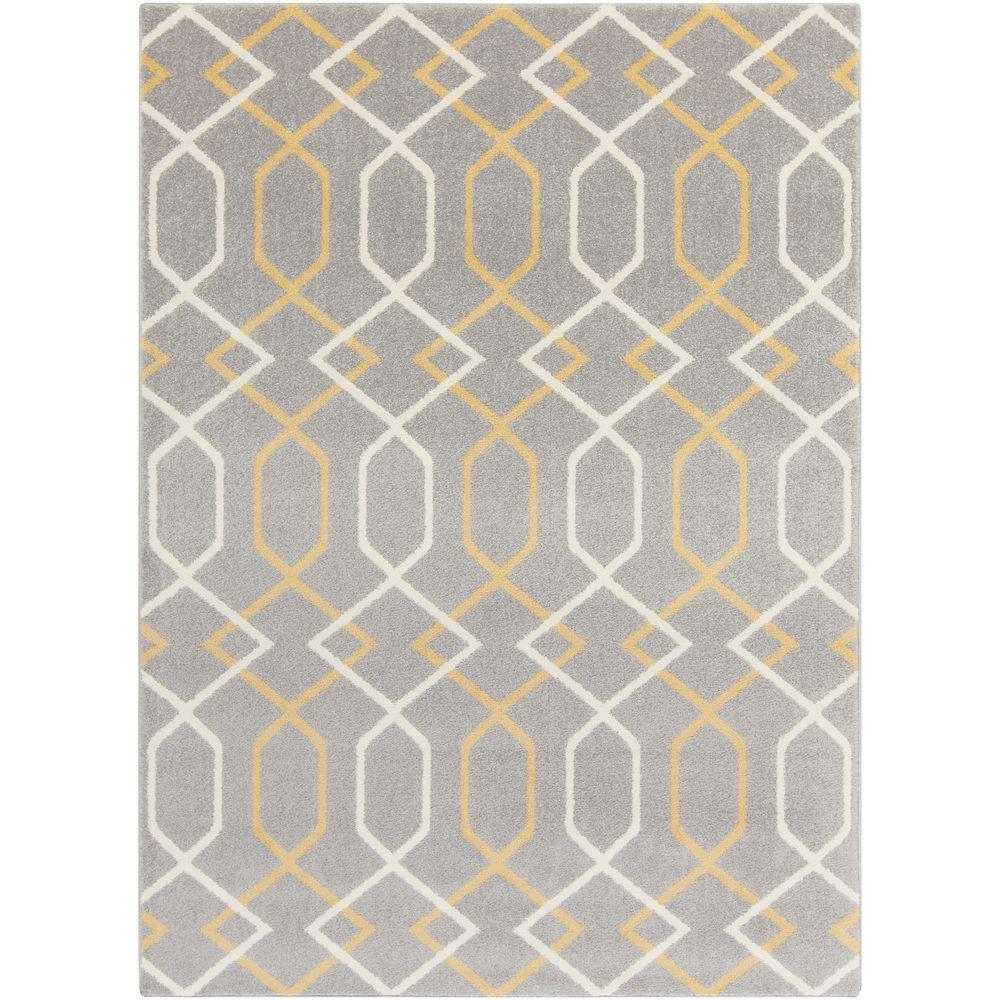 Hallstavik Gray 3 ft. x 5 ft. Indoor Area Rug