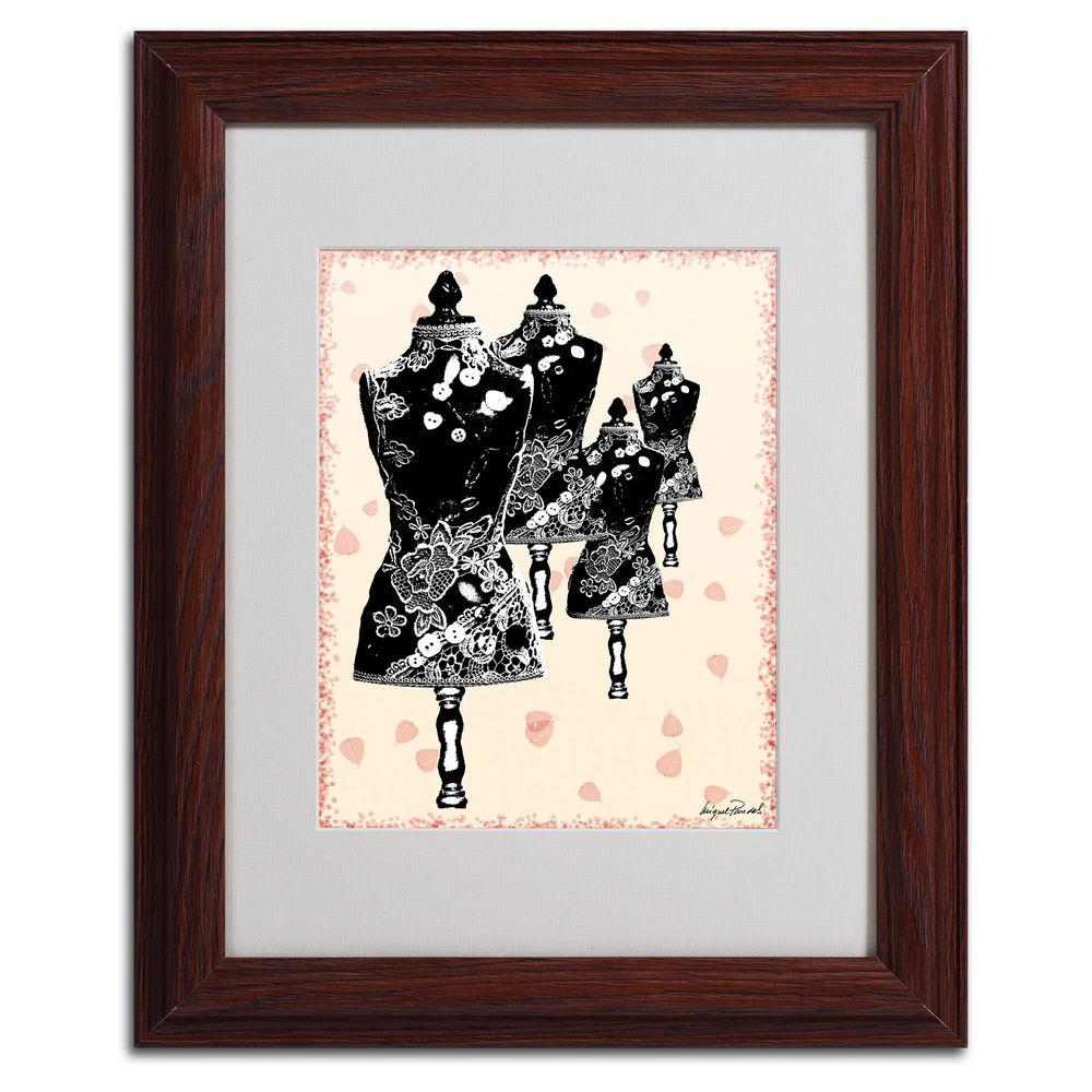 11 in. x 14 in. Tapestry I Matted Framed Art