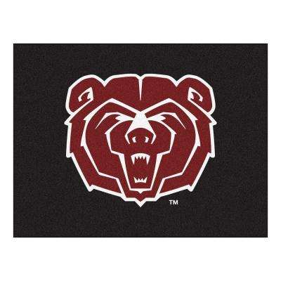 NCAA Missouri State Black 2 ft. 10 in. x 3 ft. 9 in. Accent Rug