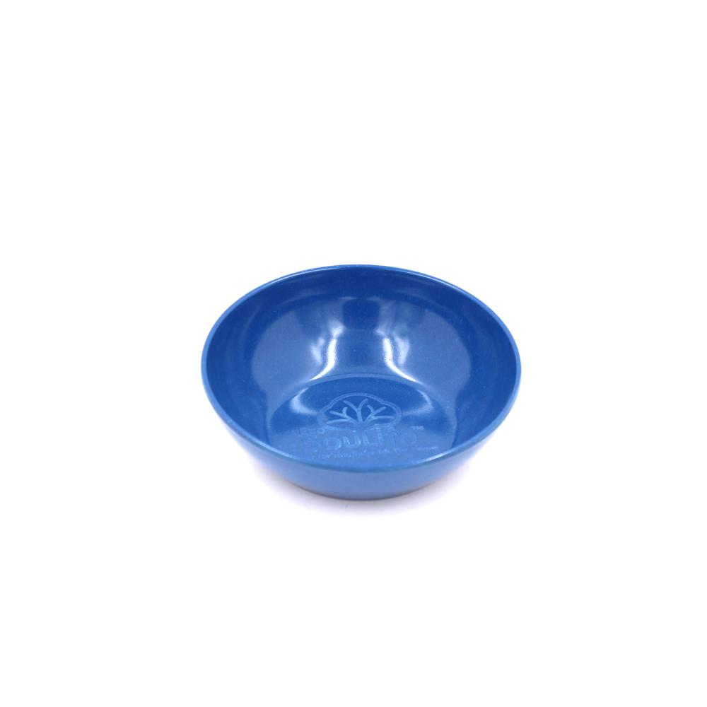 Husk Blue Denim Baby Bowl (4-Piece)