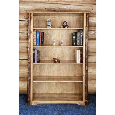 Glacier Country Medium Brown Puritan Pine Adjustable Open Bookcase