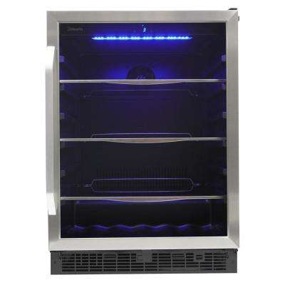 5.7 cu. ft. 138 can and 6 Bottle Built-In Wine and Beverage Center