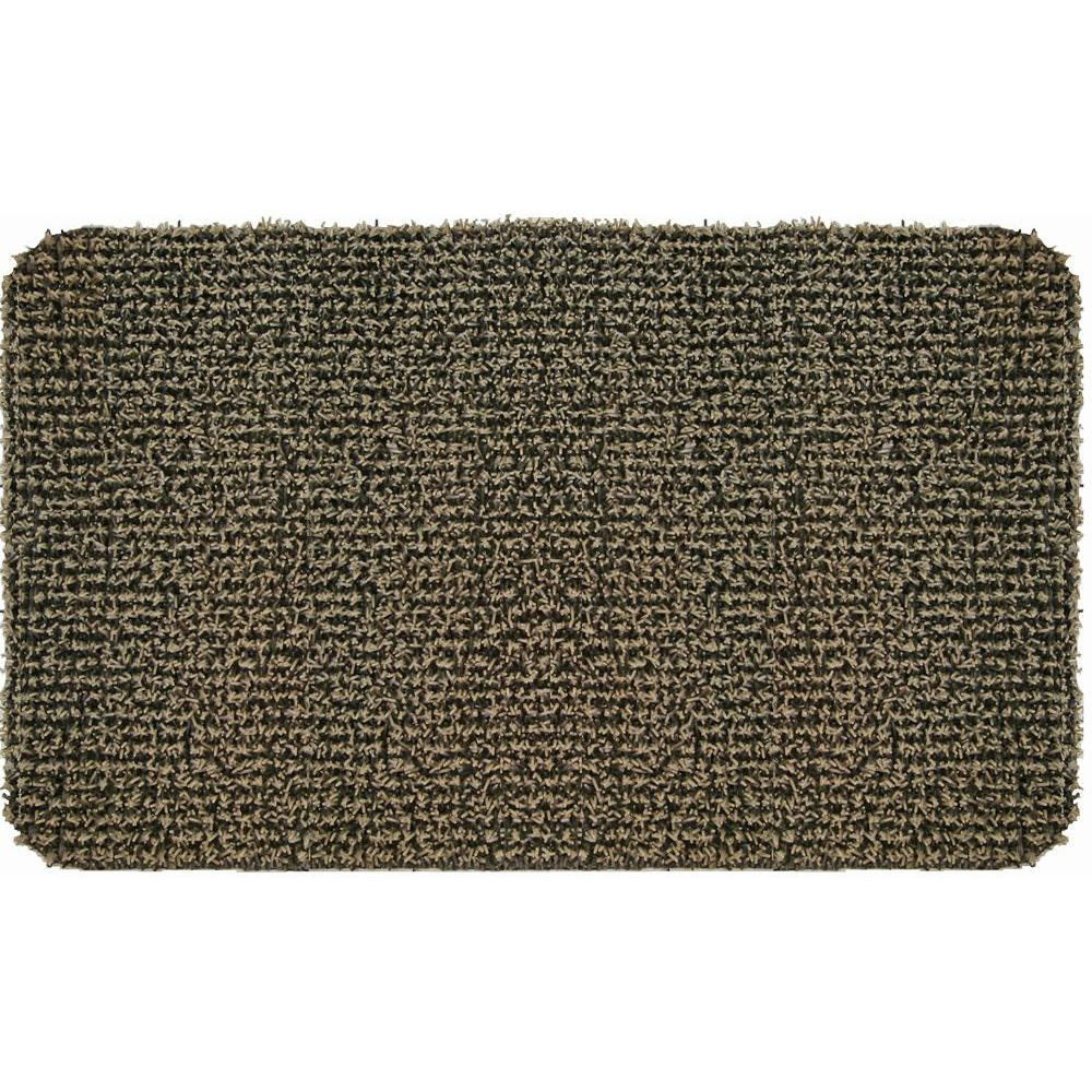 Clean Machine High Traffic Desert Taupe 18 in. x 30 in. Door Mat ...