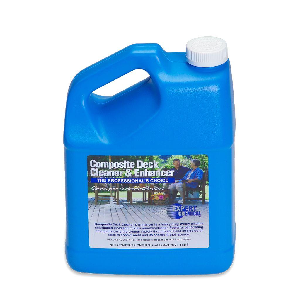 Expert Chemical 128 oz. Composite Deck Cleaner and Enhancer